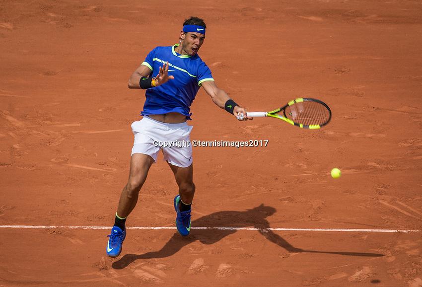 Paris, France, 29 May, 2017, Tennis, French Open, Roland Garros, Rafael Nasal (ESP)<br /> Photo: Henk Koster/tennisimages.com