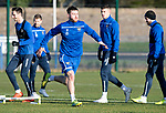 St Johnstone Training…17.01.20<br />Anthony Ralston pictured during training this morning at McDiarmid Park ahead of tomorrow's Scottish Cup tie against Greenock Morton..<br />Picture by Graeme Hart.<br />Copyright Perthshire Picture Agency<br />Tel: 01738 623350  Mobile: 07990 594431