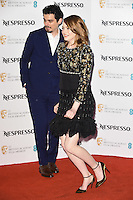 Damien Chazelle and Emma Stone<br /> at the 2017 BAFTA Film Awards Nominees party held at Kensington Palace, London.<br /> <br /> <br /> ©Ash Knotek  D3224  11/02/2017