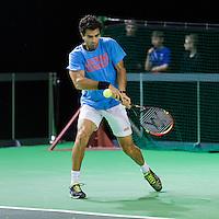 ABN AMRO World Tennis Tournament, Rotterdam, The Netherlands, 16 Februari, 2017, Jean-Julien Rojer (NED)<br /> Photo: Henk Koster
