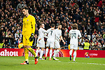 Real Madrid's Gareth Bale, Cristiano Ronaldo, Karim Benzema and Luka Modric and Sevilla FC's  during La Liga match. March 20,2016. (ALTERPHOTOS/Borja B.Hojas)