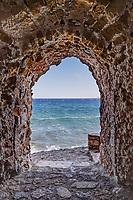 Portelo in the Byzantine castle-town of Monemvasia in Greece