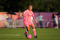 Carolyn Blank (31) of Sky Blue FC. The Western New York Flash defeated Sky Blue FC 2-0 during a Women's Professional Soccer (WPS) match at Yurcak Field in Piscataway, NJ, on July 17, 2011.
