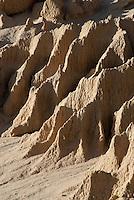 Erosie vormen in Mungo National Park, Australië