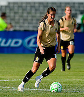 FC Gold Pride midfielder/forward Brandi Chastain (6) during a WPS match at Anheuser-Busch Soccer Park, in St. Louis, MO, July 26, 2009.  The match ended in a 1-1 tie.