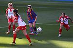 Liga IBERDROLA 2020-2021. Jornada: 10<br /> FC Barcelona vs Santa Teresa: 9-0.<br /> Aitana Bonmati