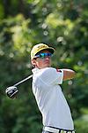 Rafael Cabrera Bello of Spain tees off during the 58th UBS Hong Kong Golf Open as part of the European Tour on 11 December 2016, at the Hong Kong Golf Club, Fanling, Hong Kong, China. Photo by Marcio Rodrigo Machado / Power Sport Images