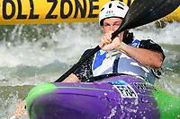 5th September 2021; Parc Olimpic del Segre, La Seu D'Urgell ICF Slalom World Cup, Men's  Extreme Slalom Semi-Finals;  Boris Neveu (FRA)