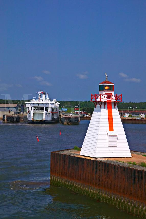 Harbor lighthouse, Prince Edward Island, Canada