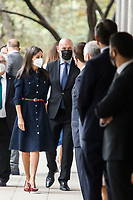 MADRID, SPAIN-September 14: Queen Letizia of Spain attends Celebration of the 50th anniversary of the creation of the Faculty of Information Sciences at Complutense University on September 14, 2021 in Madrid, Spain. September14, 2021. Credit: Jimmy Olsen/Media Punch