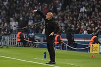 28th September 2021, Parc des Princes, Paris, France: Champions league football, Paris-Saint-Germain versus Manchester City:  Josep Guardiola ( trainer Manchester City )