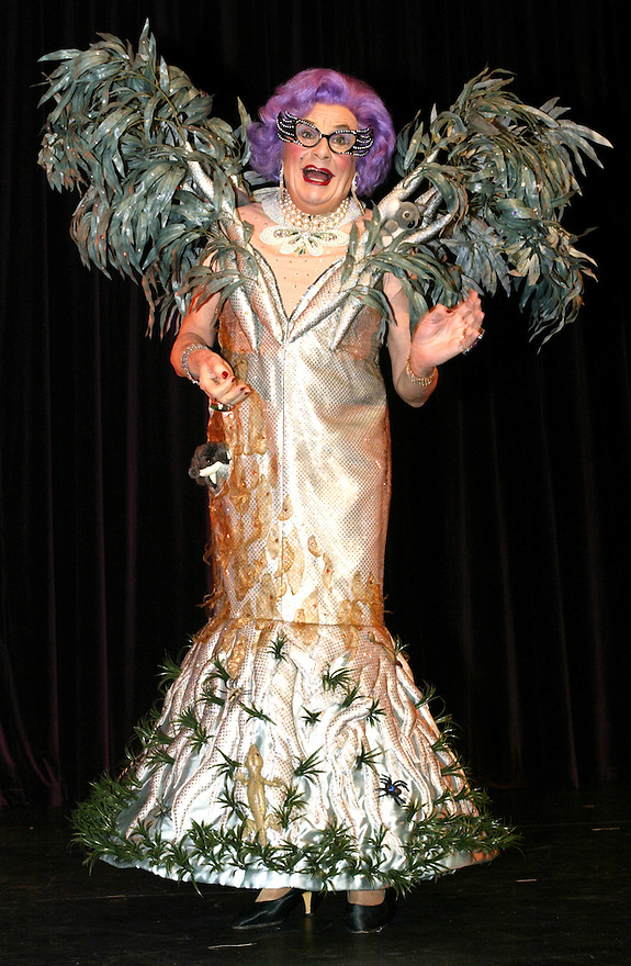 Dame Edna Everedge played by alter-ego Barry Humphries.