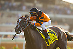 DEL MAR,CA-SEPTEMBER 02: Canbodia,ridden by Drayden Van Dyke, wins the John C. Mabee Stakes at Del Mar Race Track on September 02,2017 in Del Mar,California (Photo by Kaz Ishida/Eclipse Sportswire/Getty Images)