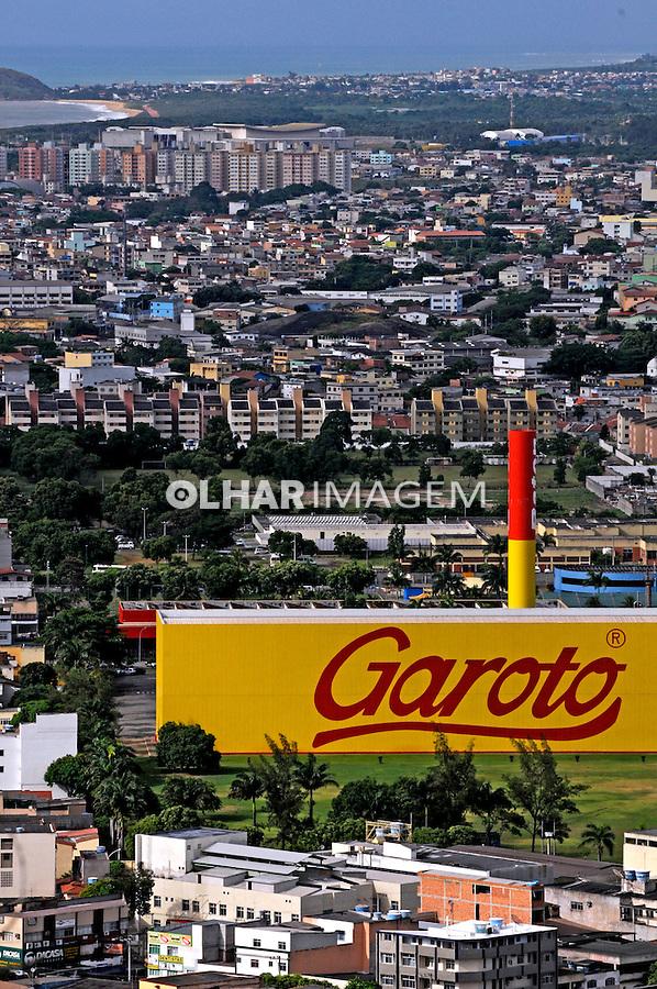 Indústria de chocolates Garoto em Vila Velha. Espírito Santo. 2008. Foto de Rogério Reis.
