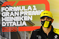 3rd September 2020; Autodromo Nazionale Monza, Monza, Italy ; Formula 1 Grand Prix of Italy, arrival day;  31 Esteban Ocon FRA, Renault DP World F1 Team