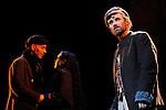 UN VIOLON SUR LE TOIT..Auteur : STEIN Joseph..Adaptateur : LAPORTE Stephane..Mise en scene : DESCHAUX Jeanne..Decor : TAPIERMAN Serge..Avec :..WILMET Alain:TEVYE le laitier..FILOU Charlotte:HODEL 2eme fille..AMAR Yoni:PERCHIK l'etudiant..Lieu : Le Palace..Ville : Paris..Le : 18 02 2010..© Laurent PAILLIER / photosdedanse.com..All rights reserved