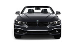 Car photography straight front view of a 2020 BMW 4 Series 430i 2 Door Convertible