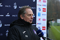 Head Coach Patrick Wachel (Anderlecht) gives an interview before a female soccer game between Standard Femina de Liege and RSC Anderlecht on the 9th matchday of the 2020 - 2021 season of Belgian Scooore Womens Super League , saturday 12 th of December 2020  in Angleur , Belgium . PHOTO SPORTPIX.BE | SPP | SEVIL OKTEM