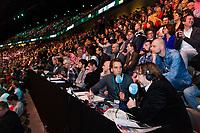 Rotterdam, The Netherlands, 16 Februari, 2018, ABNAMRO World Tennis Tournament, Ahoy, Tennis, Robin Haase (NED), Roger Federer (SUI)<br /> <br /> Photo: www.tennisimages.com