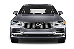 Car photography straight front view of a 2017 Volvo V90 Inscription 5 Door Wagon