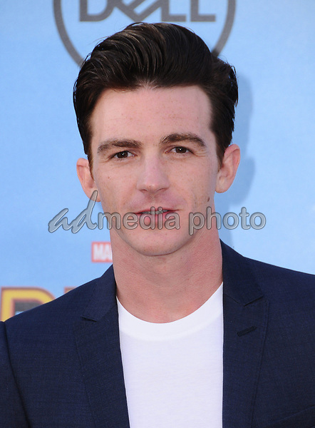 """28 June 2017 - Hollywood, California - Drake Bell. """"Spider-Man: Homecoming"""" Los Angeles Premiere held at the TCL Chinese Theatre in Hollywood. Photo Credit: Birdie Thompson/AdMedia"""