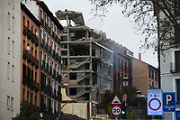 MADRID, SPAIN - JANUARY 20: View of the building after a explosion on January 20 in Madrid, Spain.  (Photo by Joan Amengual / VIEWpress