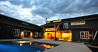 Clouds are illuminated at sunset at the Adams home in Pleasanton, CA. (Photo by Alan Greth)