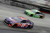 Monster Energy NASCAR Cup Series<br /> Food City 500<br /> Bristol Motor Speedway, Bristol, TN USA<br /> Monday 24 April 2017<br /> Denny Hamlin, FedEx Freight Toyota Camry<br /> World Copyright: Matthew T. Thacker<br /> LAT Images<br /> ref: Digital Image 17BMS1mt1465