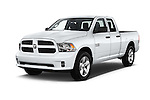 2016 Ram 1500 Express Express 4 Door Pickup Angular Front stock photos of front three quarter view
