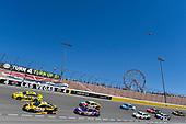 #22: Joey Logano, Team Penske, Ford Fusion Shell Pennzoil and #20: Erik Jones, Joe Gibbs Racing, Toyota Camry DeWalt