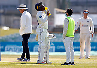 Daniel Bell-Drummond of Kent takes on board some fluid during Kent CCC vs Lancashire CCC, LV Insurance County Championship Group 3 Cricket at The Spitfire Ground on 24th April 2021