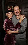 """Kelli O'Hara and Will Chase during the Broadway Opening Night Legacy Robe Ceremony honoring Erica Mansfield for  """"Kiss Me, Kate""""  at Studio 54 on March 14, 2019 in New York City."""