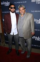 "11 June 2021 - Las Vegas, NV - Cemi Guzman, Luis Guzman.  VIP World Premiere Screening  of ""The Birthday Cake"" at The Mob Museum Las Vegas. Photo Credit: mjt/AdMedia"