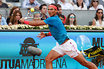 Rafa Nadal from Spain during his Madrid tennis Open  men's final match against Andy Murray from UK in Madrid, Spain. May 10, 2015. (ALTERPHOTOS/Victor Blanco)