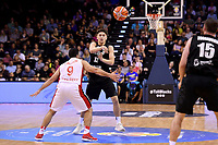 New Zealand Tall Blacks' Kruz Perrott-Hunt in action during the FIBA World Cup Basketball Qualifier - NZ Tall Blacks v Syria at TSB Bank Arena, Wellington, New Zealand on Sunday 2 2018. <br /> Photo by Masanori Udagawa. <br /> www.photowellington.photoshelter.com