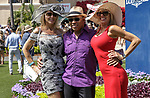DEL MAR, CA  JULY 16: Happy fans attending Opening Day of the Summer Meet at Del Mar Thoroughbred Club on July 16, 2021,  in Del Mar, Ca. (Photo by Casey Phillips/Eclipse Sportswire/CSM)