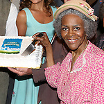 NEW YORK, NY - JULY 23: Cicely Tyson and cast attend 'The Trip To Bountiful' 100th Performance Celebration at Stephen Sondheim Theatre on July 23, 2013 in New York City.