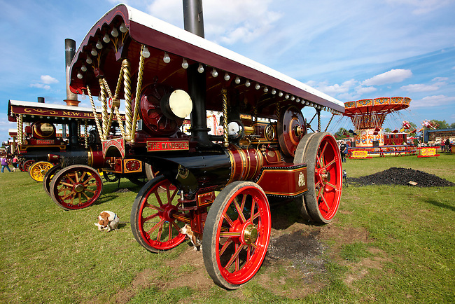 """""""The Wanderer"""" A John Fowler of Leeds Steam traction engines"""