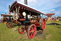 """The Wanderer"" A John Fowler of Leeds Steam traction engines"