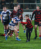 Friday 1st November 2019 | Ulster Rugby vs Zebre Rugby<br /> <br /> Mini-Rugby at halftime during the PRO14 Round 5 clash between Ulster Rugby and Zebre Rugby at Kingspan Stadium, Ravenhill Park, Belfast, Northern Ireland. Photo by John Dickson / DICKSONDIGITAL