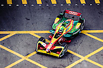 Lucas di Grassi of ABT Schaeffler Audi Sport during the first stop of the FIA Formula E Championship HKT Hong Kong ePrix at the Central Harbourfront Circuit on 9 October 2016, in Hong Kong, China. Photo by Marcio Rodrigo Machado / Power Sport Images