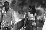 JEAN LOUIS TRINTIGNANT CON LA FIGLIA MARIE<br /> ROMA 1979