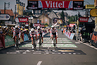 Team Trek-Segafredo rolling in<br /> <br /> Stage 3 (Team Time Trial): Cholet > Cholet (35km)<br /> <br /> 105th Tour de France 2018<br /> ©kramon