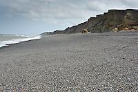 Shingle beach at Weybourne, Norfolk.