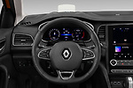 Car pictures of steering wheel view of a 2020 Renault Megane Edition-One 5 Door Hatchback Steering Wheel