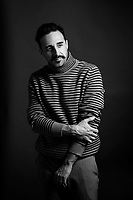 MADRID, SPAIN -JULY 16: Lolo Diego poses for a portrait session and he wears Antony Morato sweater, Dockers trousers and Pitillos shoes on July 16, 2020 in Madrid. (Photo by Juan Naharro Gimenez)