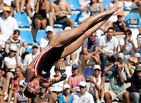 Germany's Christin Steuer competes in the women's 10m platform diving finals at the Swimming World Championships in Rome, 18 July 2009..UPDATE IMAGES PRESS/Riccardo De Luca
