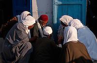 Markt in  Douz, Tunesien