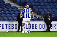 20th December 2020; Dragao Stadium, Porto, Portugal; Portuguese Championship 2020/2021, FC Porto versus Nacional; Jesús Corona of FC Porto comes forward on the ball