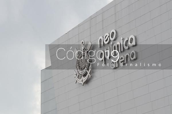 São Paulo (SP), 03/03/2021 - CORINTHIANS-PALMEIRAS - Corinthians e Palmeiras partida válida pela 2ª rodada do Campeonato Paulista 2021, na Neo Química Arena, quarta-feira (03).